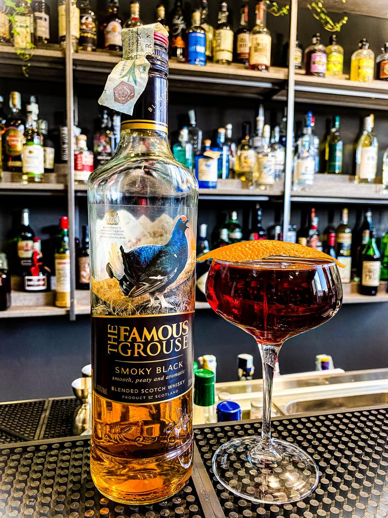 TFG Smoky Black Cocktail